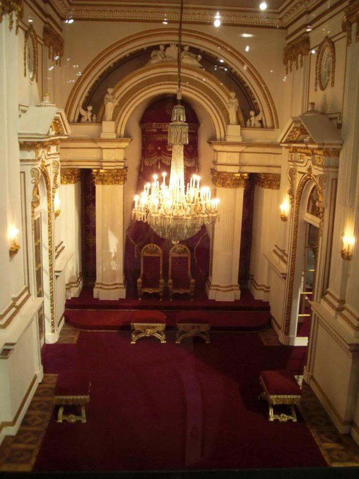 Throne Room At Buckingham Palace ~ London, England