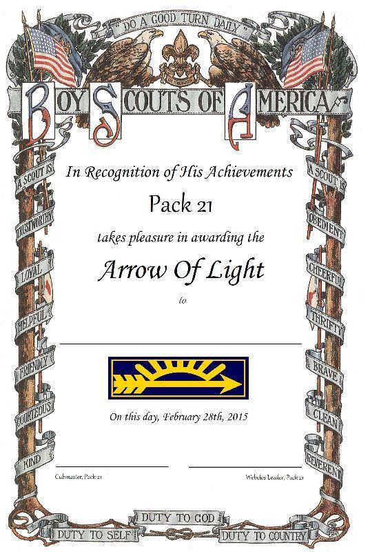 webelos crossover certificates cub scouts cub scouts cub scout activities boy scouts