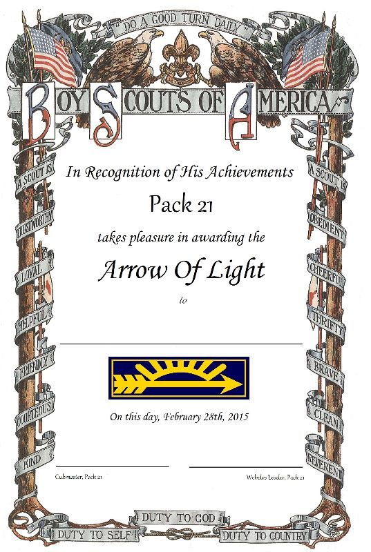 1000 images about cub scout arrow of light on pinterest