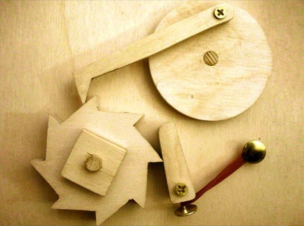 The Automata Blog: Article on how to make a simple ratchet mechanism out of wood