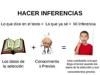 Hacer #inferencias