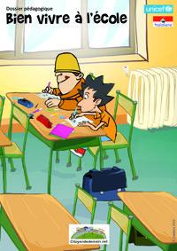 Dossier pédagogique sur le thème du « Bien vivre à l'école ». Il est composé de 3 séquences pédagogiques, pour ouvrir le débat et mener des ateliers en classe pour mieux se connaître, mieux vivre ensemble et mieux apprendre !