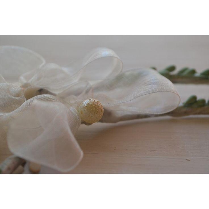 Χειροποίητα στέφανα γάμου από λεμονανθούς και λουλουδάκια - Eleni Mavrogeni