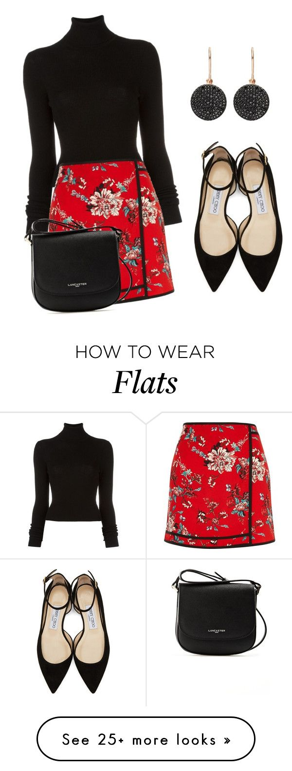 """Без названия #528"" by alina12103 on Polyvore featuring BLK DNM, River Island, Jimmy Choo, Astley Clarke and Lancaster"