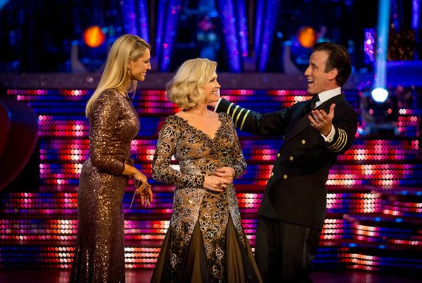 Strictly Come Dancing: Fiona Fullerton Leaves In Week 8