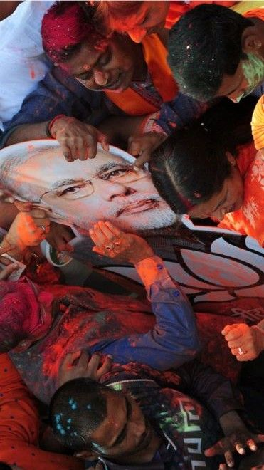 The ruling Bharatiya Janata Party's (BJP) decisive win in elections in India's politically crucial state of Uttar Pradesh - it sends 80 MPs to the lower house of parliament, has produced nine prime ministers, and is located next door to the capital, Delhi - is clearly being seen as a referendum on Prime Minister Narendra Modi. http://www.bbc.com/news/world-asia-india-39227822