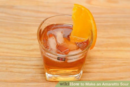 How to Make an Amaretto Sour: 11 Steps (with Pictures)