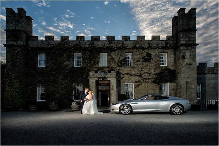 Wedding photography at Tregenna Castle in St Ives