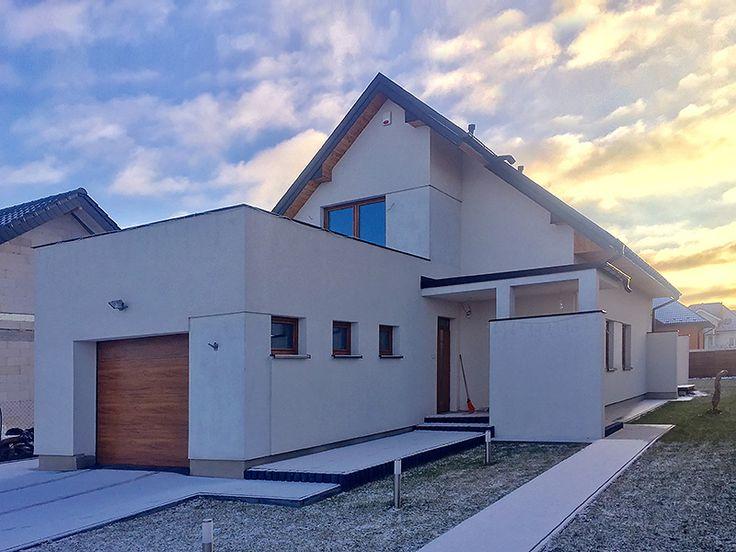 Realizacja projektu Ametyst (137,30 m2). Pełna prezentacja projektu znajduje się na stronie: https://www.domywstylu.pl/projekt-domu-ametyst.php. #ametyst #domywstylu #mtmstyl #projekty #projekt #projektygotowe #projektytypowe #architektura #architecture #home #house #realizacje #domy