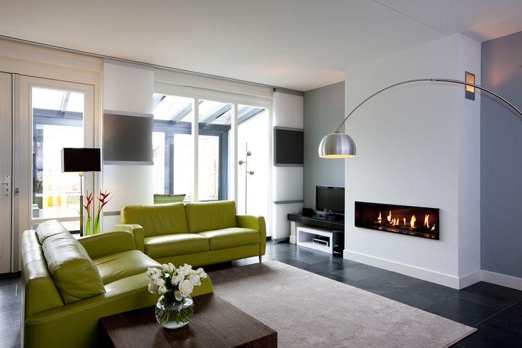 Woonkamer in hooglanderveen bij amersfoort na stijlidee 39 s for Interieur amersfoort