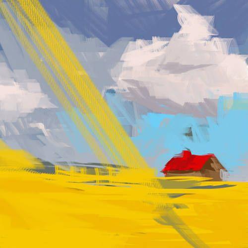 canvas print 100x100  I www.krzanoo.pl