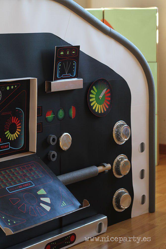 Nice Party DIY panel de mandos de nave espacial (3)