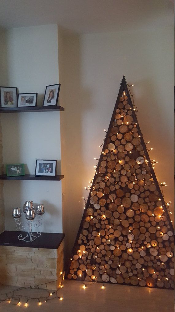 Firewood stand, firewood rack, firewood place, firewood storage, fireplace, rustic and industrial style, home decor,  Xmas tree