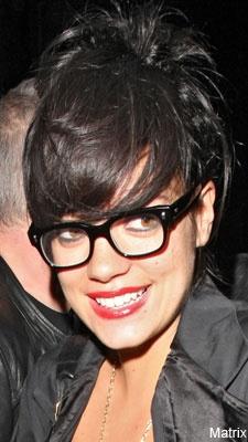 Lily Allen in Geek Chic