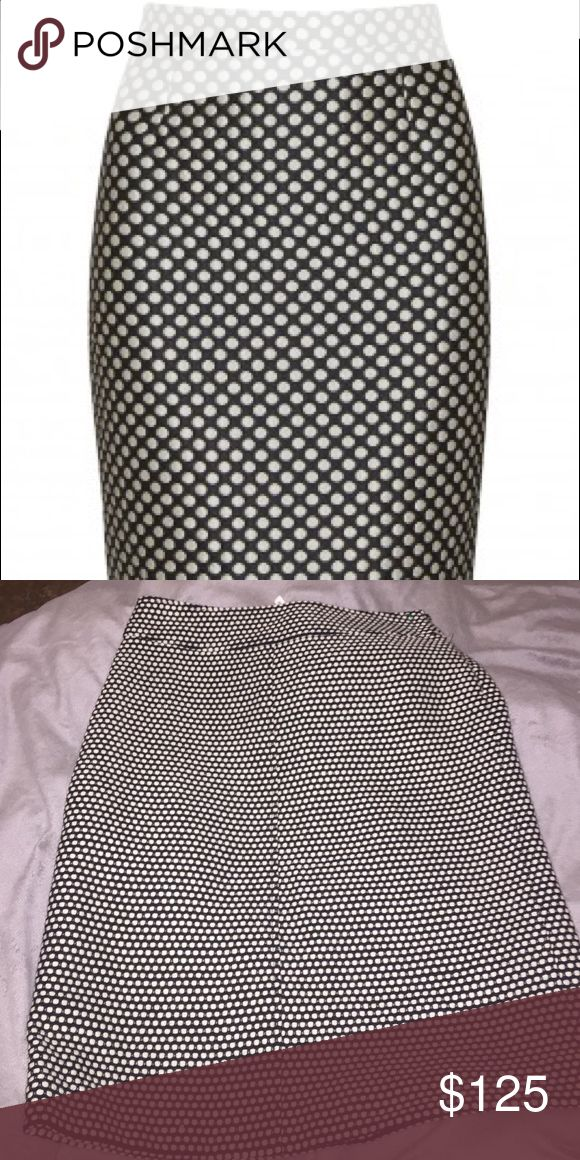 Harvey Nichols dot skirt Used once Harvey Nichols Skirts Midi