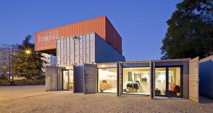 1000 id es sur le th me maisons containers sur pinterest for Maison container 01
