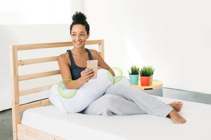 These Pillows Help You Do Yoga in Your Sleep   Brit + Co