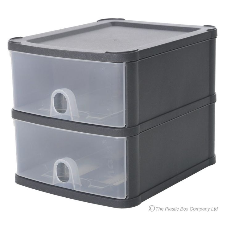Stackable Storage Boxes With Drawers