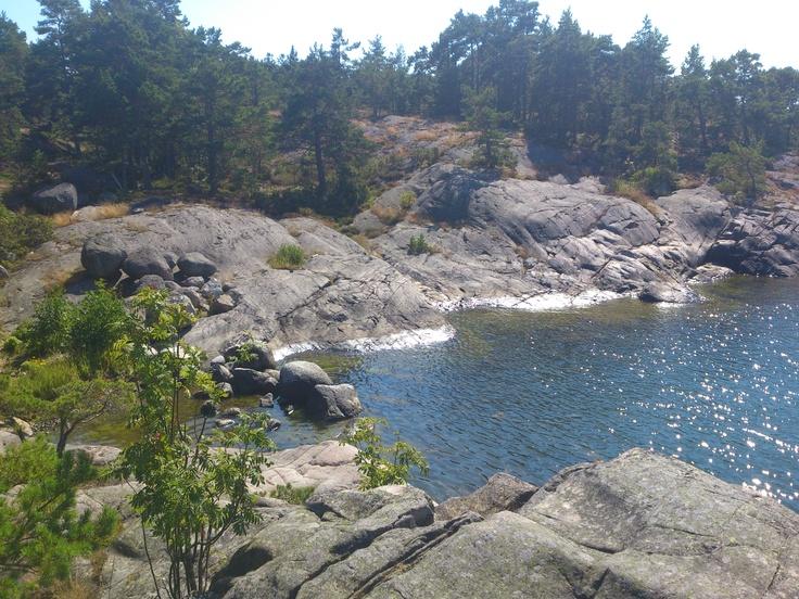 Stockholm archipelago 2012, The island Fjärdlång.