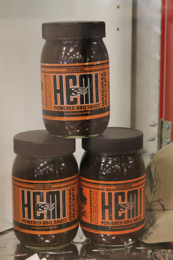 Hemi Powered BBQ Sauce...Come on in to Tucson Dodge at 4220 E 22nd St. SW Corner of 22nd & Columbus...or call 745-7915.