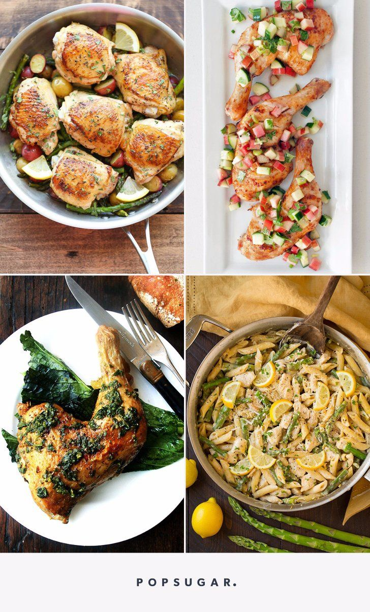 Spring Clean Your Cooking Routine With These 15 Chicken Recipes