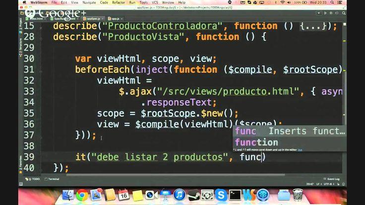 Test Driven Development con Angular.js + Jasmine con @scyrizales #DevHan...