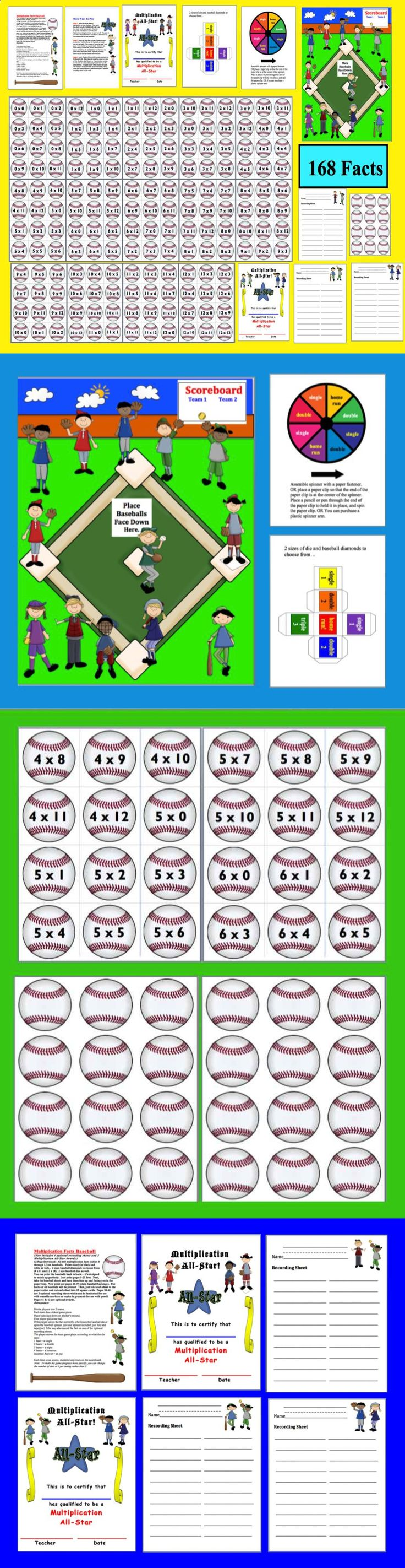 Multiplication facts 11 and 12 games multiplication for 11 times table game
