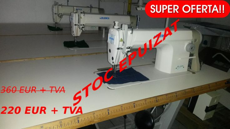 Masini de cusut liniare marca Juki DDL-8500 la 220 EUR + TVA
