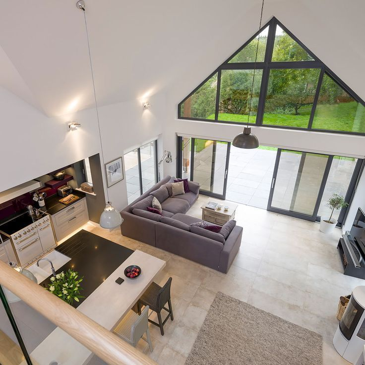 Open Plan Living Area Ideas Building Your Own Home And The Cost Of Building A House Bui Living Room And Kitchen Design Open House Plans Build Your Own House