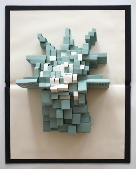 wonderful paper art