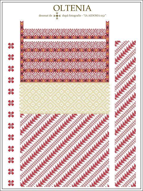 813 besten Folk Embroideries - Romania Bilder auf Pinterest ...