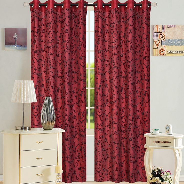 Adele Single Curtain Panel