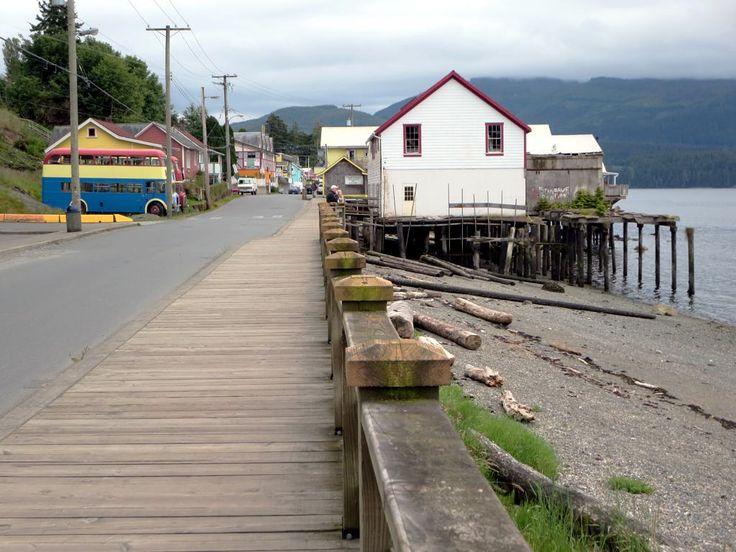 Downtown Alert Bay