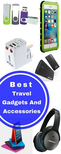 Traveling is a source of great pleasure and when you have the right gadgets with you, it's even more enjoyable. Mentioned above are some of the best and most innovative gadgets that help make sure that your vacation goes smoothly.