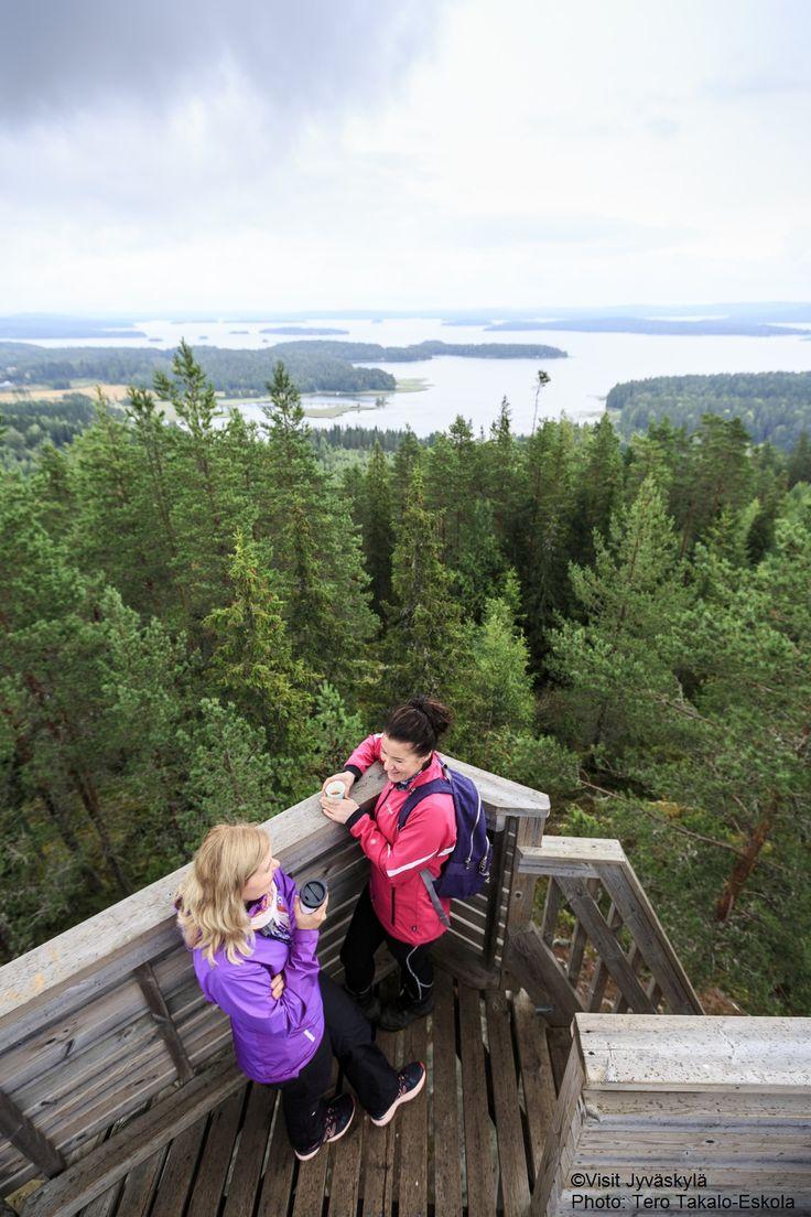 Oravivuori triangulation tower. ©Visit Jyväskylä Photo: Tero Takalo-Eskola.