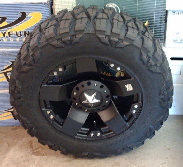 KMC XD-SERIES XD800 MISFIT 17 inch Rims Black Wheels - ID:9589
