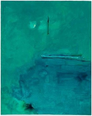Helen Frankenthaler - Contentment Island, 2004. screenprint 37″ x 30 1/2″