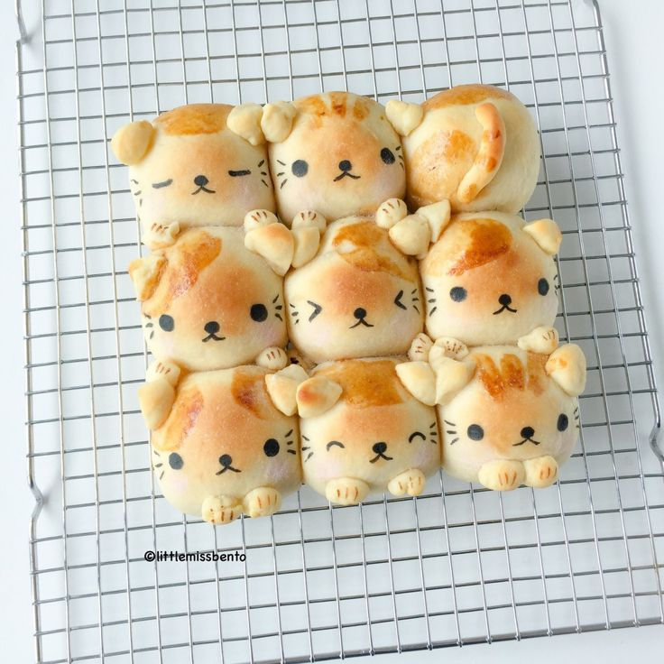 soymilk kitty bread