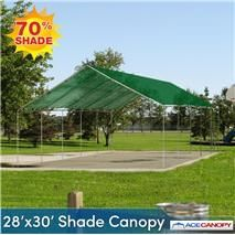 A Shade Canopy 28' x 30' 2 Inch Pipe Diameter is ideal for application wherein little amount of sunlight is needed. One good example is for plants that shouldn't be exposed to direct sunlight. You can place them under the protection of this shade canopy. This is a portable shelter that can you can set up quickly.