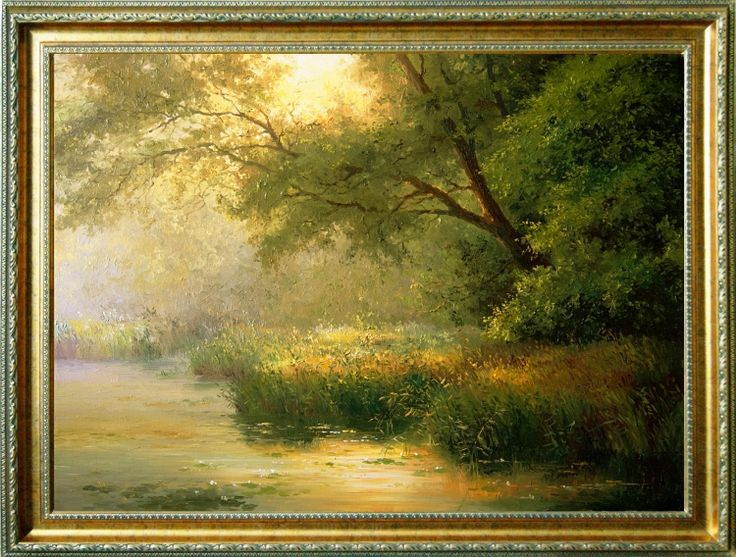 morning landscape (landscape painting)