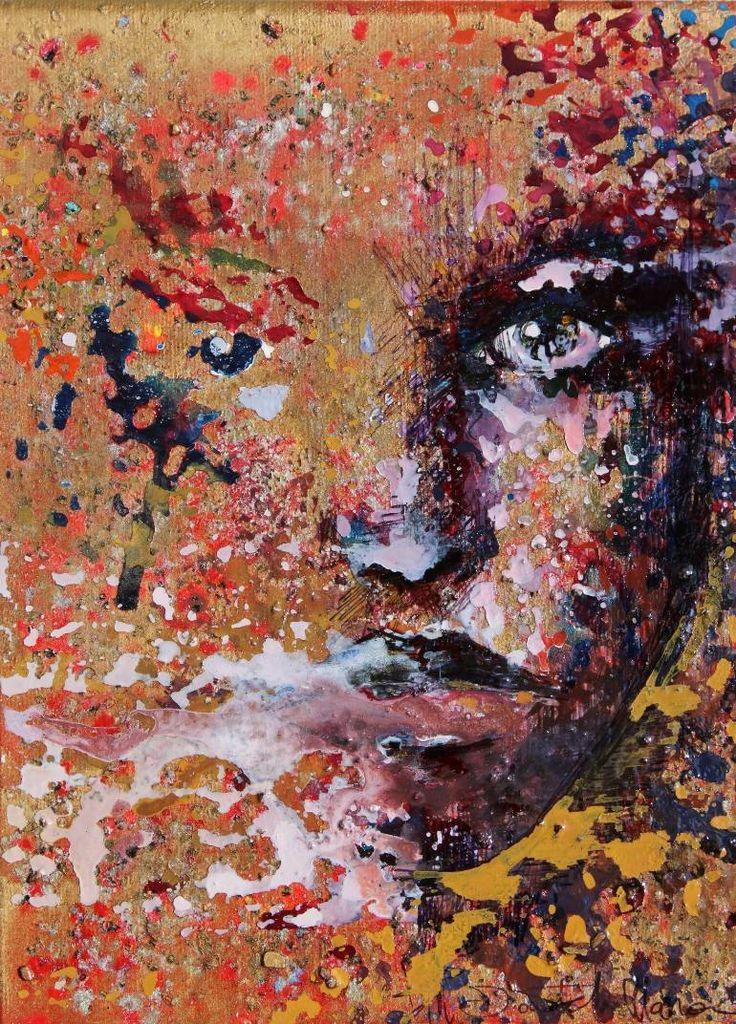 """Saatchi Art Artist Donatella Marraoni; Painting, """"Inside II"""" #art"""
