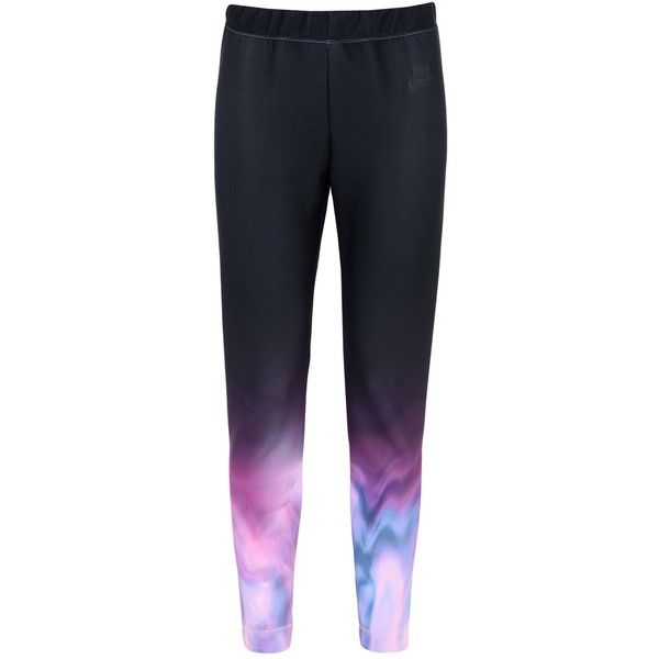 Nike Casual Trouser ($61) ❤ liked on Polyvore featuring pants, black, nike jerseys, stretch waist pants, slim fit pants, elastic waist pants and jersey pants