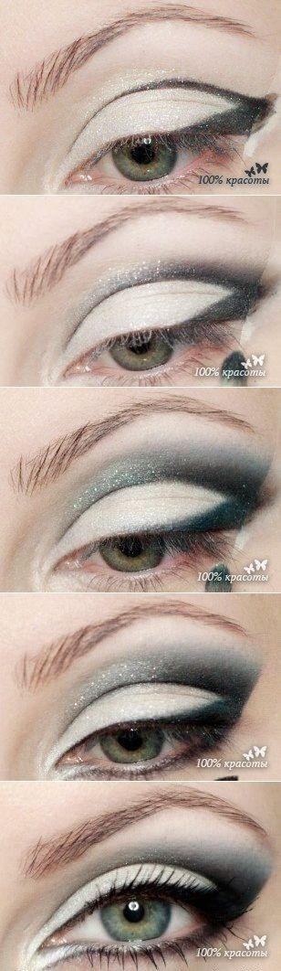 Потрясающий вечерний макияж....♥ Deniz ♥