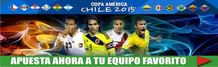LA COPA AMERICA 2015 Continua con tus apuestas Con safety pay: desde tu pais, tu banco y tu moneda local www.hispanofutbol.com