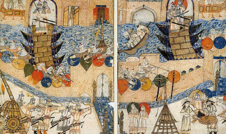 Il 10 febbraio 1258 i Mongoli conquistano Baghdad. La città, capitale del vasto califfato abbaside, si sottomette a Hulagu Khan e al suo esercito di almeno 145 000 uomini, tra Mongoli, Tatari, Turchi, Persiani e alleati dei regni cristiani. Seguirono lo sterminio degli abitanti e la distruzione della città: fonti arabe parlano di circa due milioni di morti. Il conseguente spopolamento della regione diede avvio al progressivo inaridimento della regione.