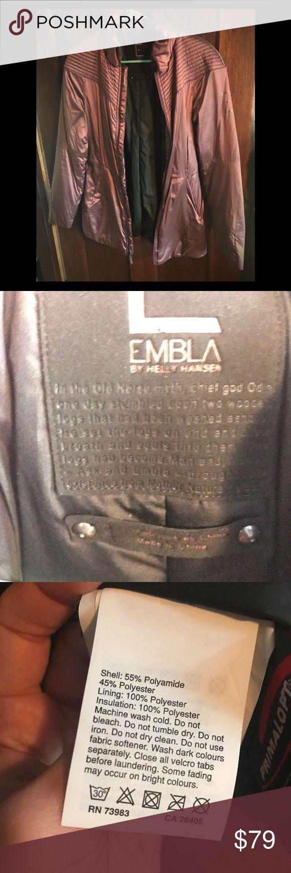Embla by helly Hansen winter jacket Embla by helly hansen size medium Helly Hansen Jackets & Coats