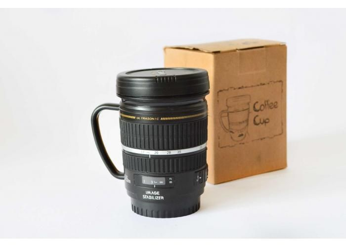 Siempre Quise Uno: Taza con asa tipo lente Canon - Kichink!