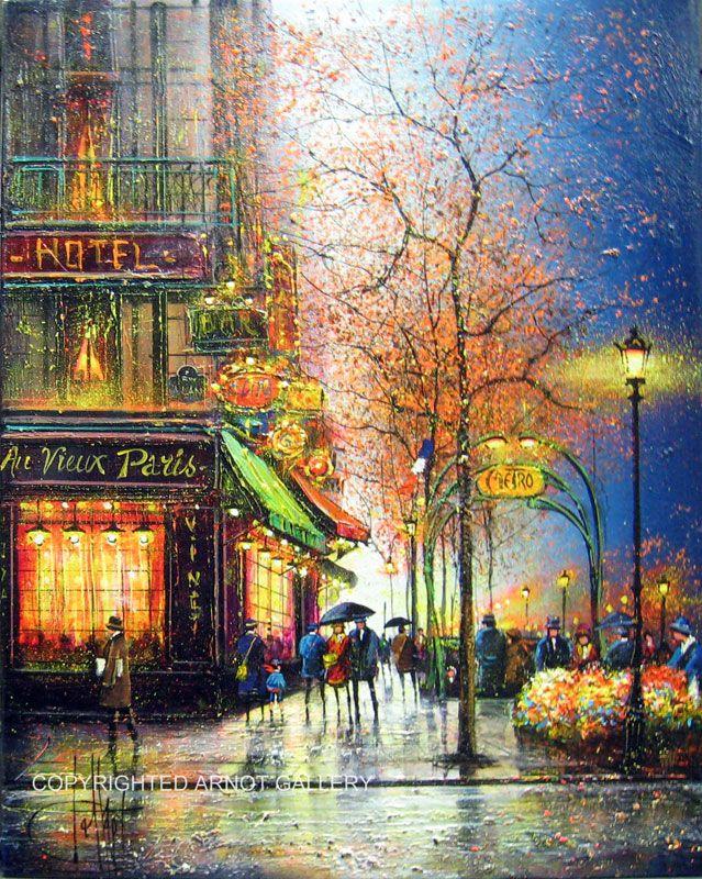 'Paris les Grands Boulevards, le Metro' by Guy Dessapt