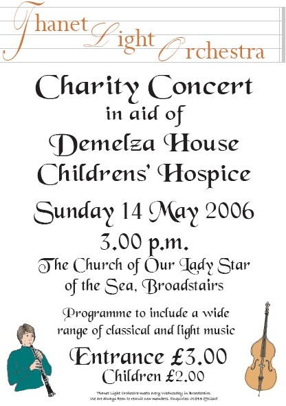 Concert in aid of Demelza House, May 2006