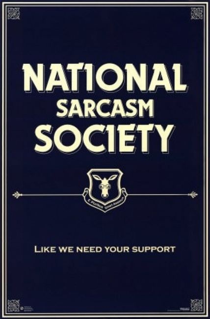 :0The National, Sarcasm Society, Languages, Signs, Quotes Posters, Funny Quotes, Humor Quotes, National Sarcasm, Cards